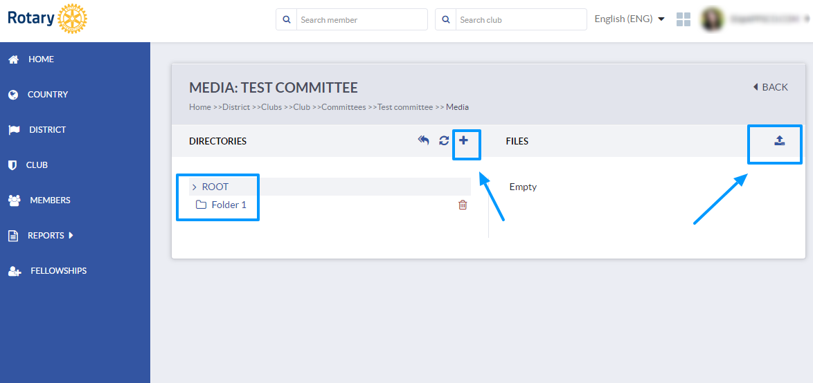 How to create and manage committees | Club Collaborator software