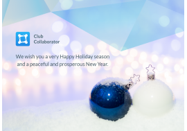 Club Collaborator Wishes You a Happy Holiday Season